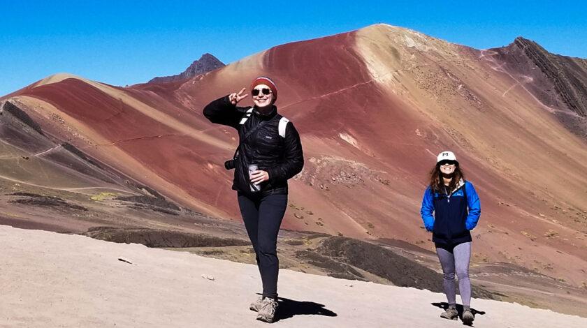 The journey to Rainbow Mountain